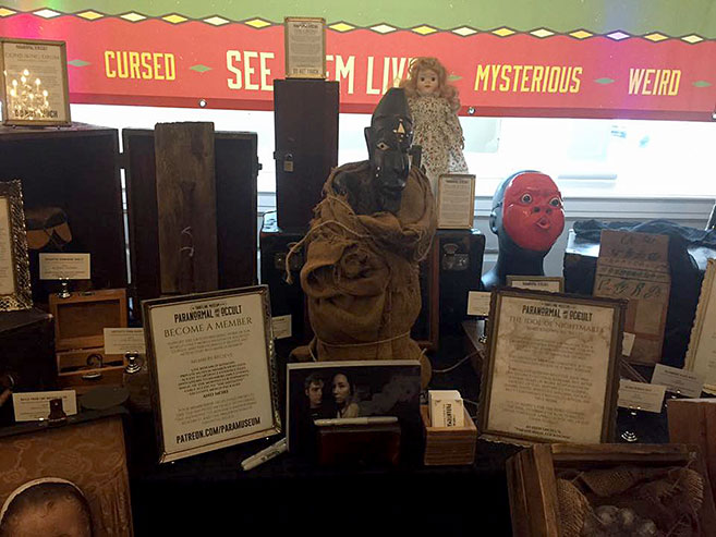 The Traveling Museum of the Paranormal and the Occult