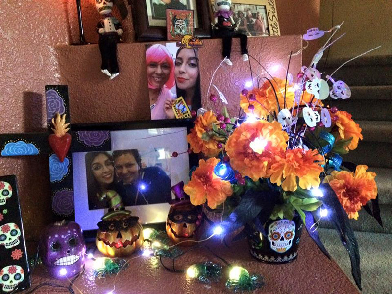 Altar Mictecacihuatl - Dia de Los Muertos - Celebrating the Rich Traditions of the Holiday