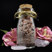 Handcrafted Cherish Blessing Salt by Sticks & Stones Magic