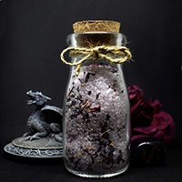 Handcrafted Focus Blessing Salt by Sticks & Stones Magic