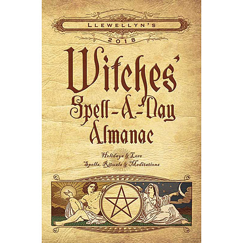 2018 Witches Spell A Day Almanac by Llewellyn