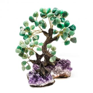 Small & Large Aventurine Bonsai Tree