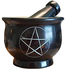 Mortar & Pestle Sets, Herbs, Spells and Smudging