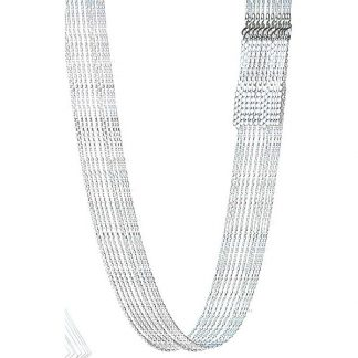 """Silver Plated Brass Chain ( 20"""", 12 Pack)"""